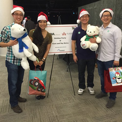 AABA and AABF Holiday Party and Toy Drive - 12.12.2015