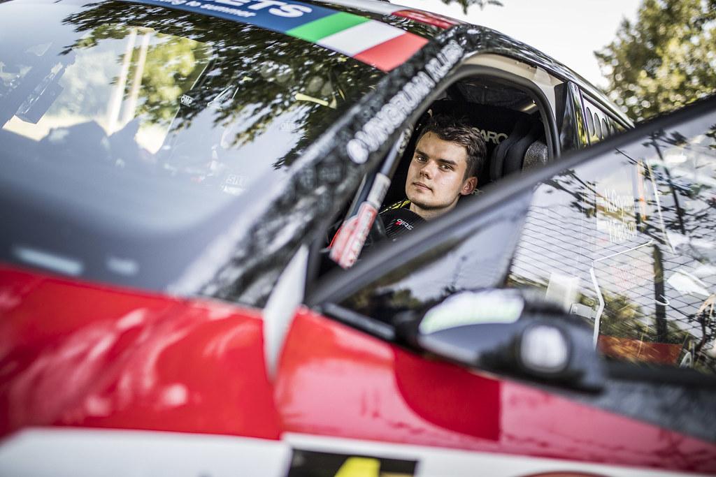 GRYAZIN Nikolay (LVA), Yaroslav Fedorov (RUS), Sport Racing Technologies, SKODA FABIA R5, during the 2018 European Rally Championship ERC Rally di Roma Capitale,  from july 20 to 22 , at Fiuggi, Italia - Photo Gregory Lenormand / DPPI