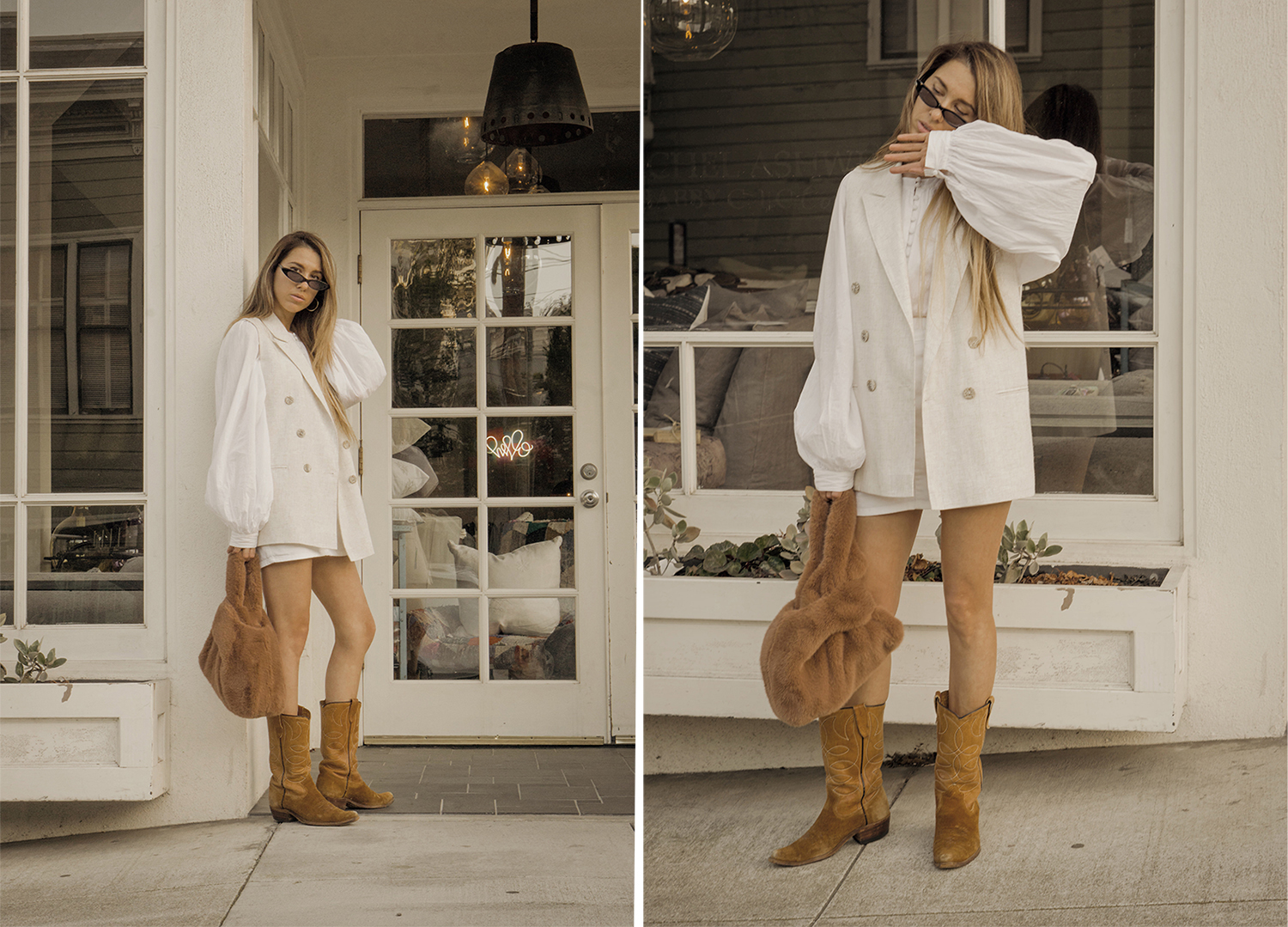 total_all_white_outfit_look_street_style_western_boots_isabel_marant_inspired_fur_bag_vest_denim_skirt_summer_2018_trend_lena_juice_the_white_ocean_05