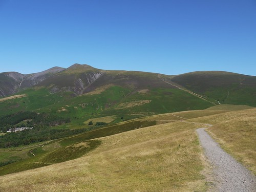 Out Path up Skiddaw Little Man