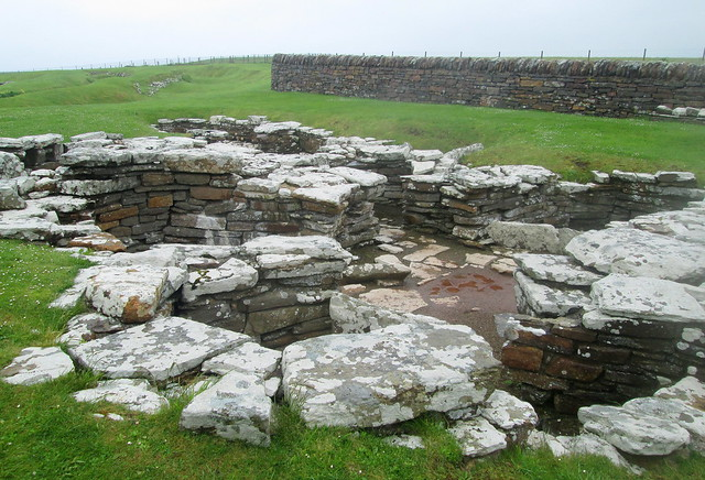 Shamrock Building, Broch of Gurness, Orkney
