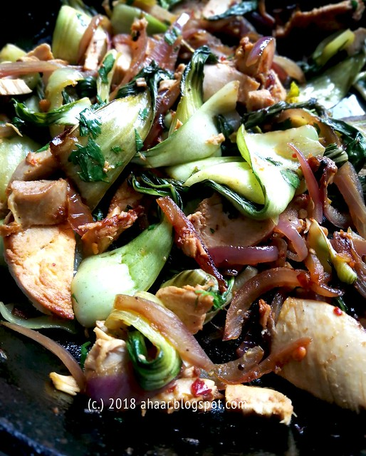 Bok choy chicken