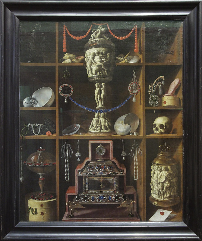 Cabinet of Curiosities, Johann Georg Hinz, 1666