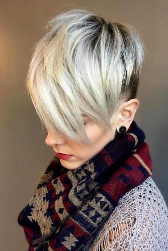 60+Pretty Ladies Short Haircuts -They Have Dreamt Of This Hairstyles 12