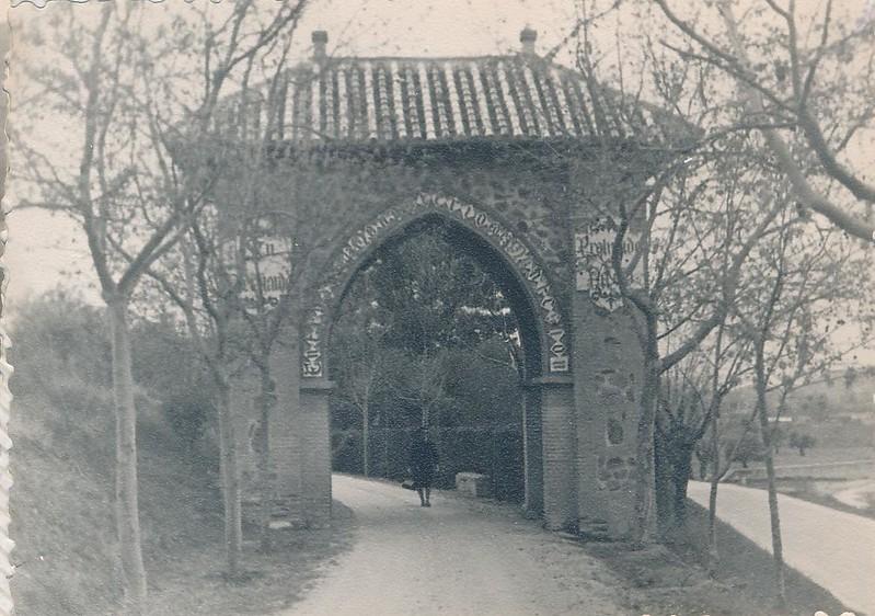 Monasterio de Monte Sión en 1962. Fotografía de Julián C.T.
