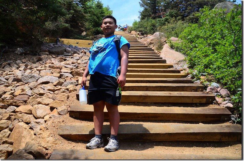 Jacob on his way up to the top of the incline (7)