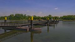 Rheinfähre Frankreich-Deutschland bei Selz-Plittersdorf