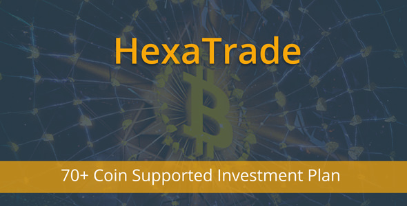 HeXaTrade v1.3 – Coinpayments Support Investment Platform
