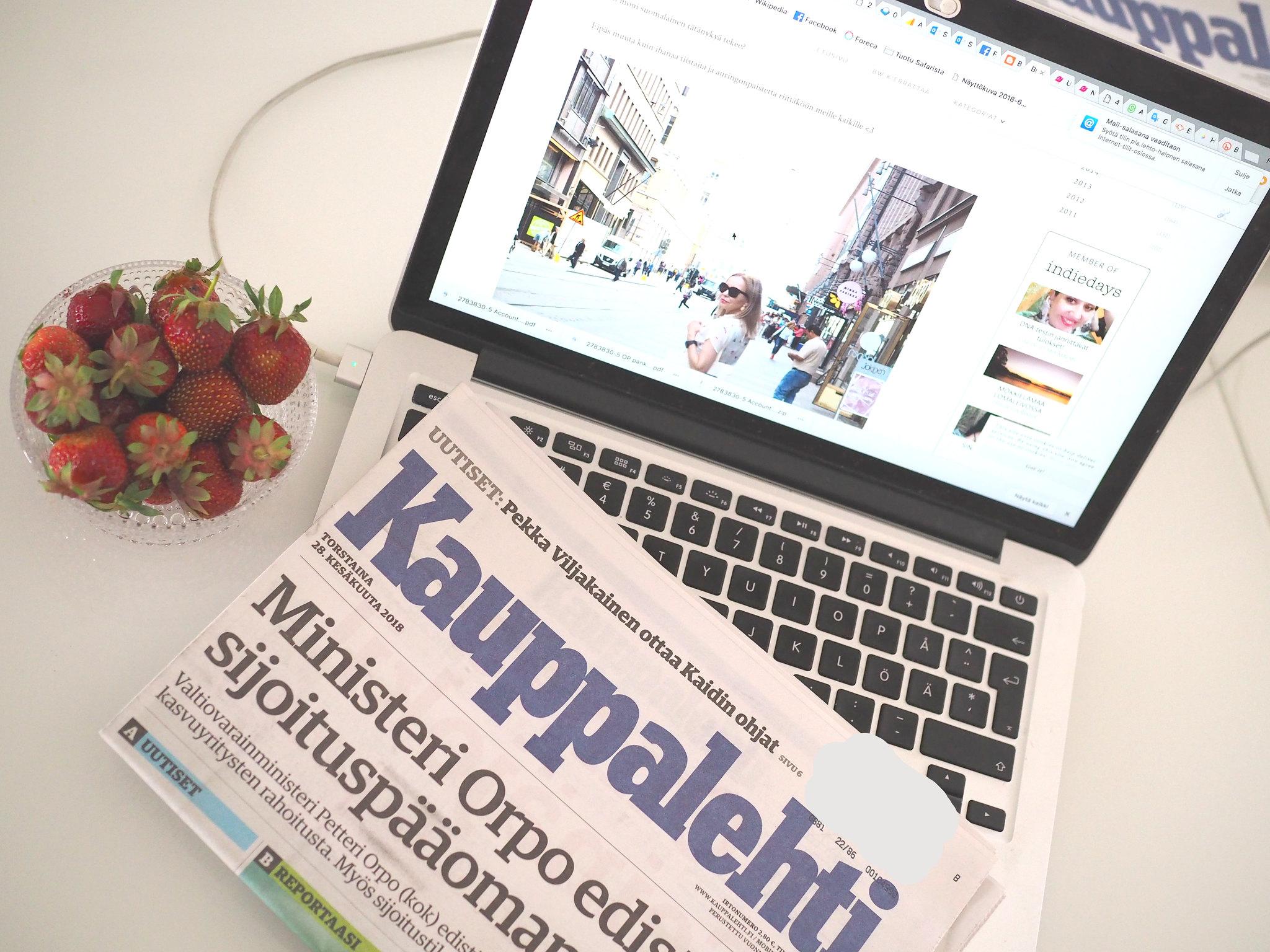 Business Woman Helsinki