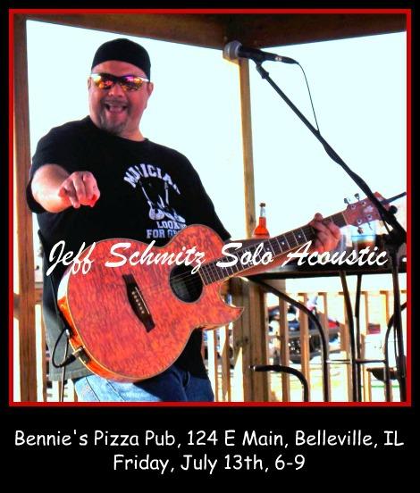 Jeff Schmitz Solo Acoustic 7-13-18