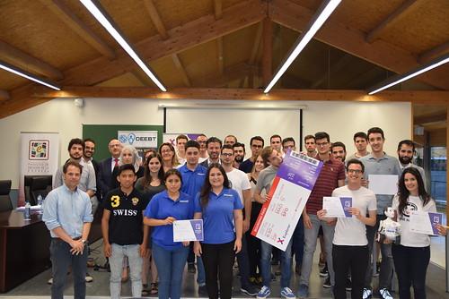 Presentación proyectos finales Explorer UPCT 2018