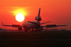 sunrise landing...