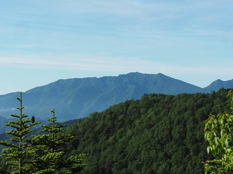田代山より日光連山方面