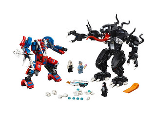 Mecha Galore! LEGO 76115 Spider-Man Mech vs. Venom Mech Unveiled!