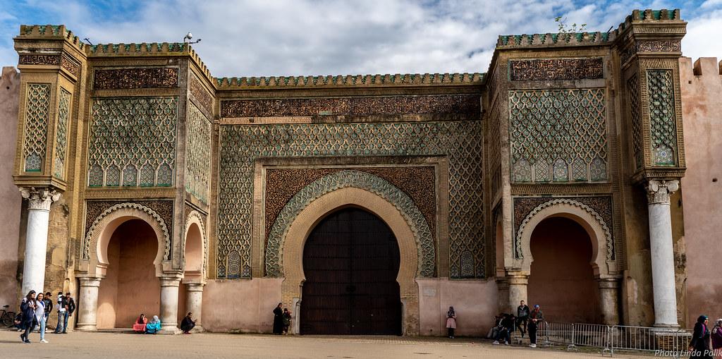 Bab Al-Mansour Meknes Morocco-00672