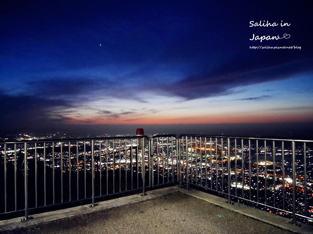 日本福岡浪漫約會景點推薦皿倉山夜景纜車 (3)
