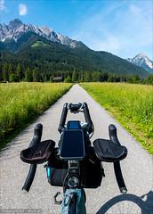 Radweg in Südtirol