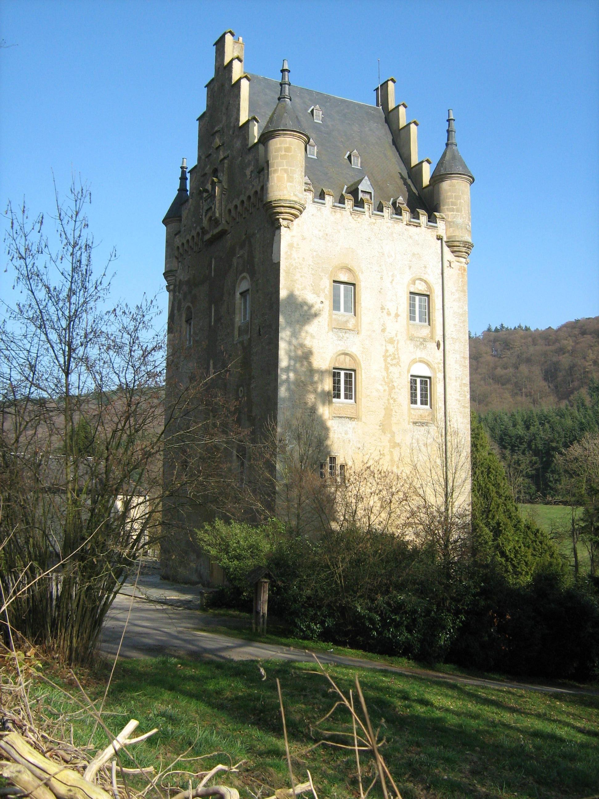 Schoenfels Castle, Luxembourg. Photo taken on March 25, 2011.
