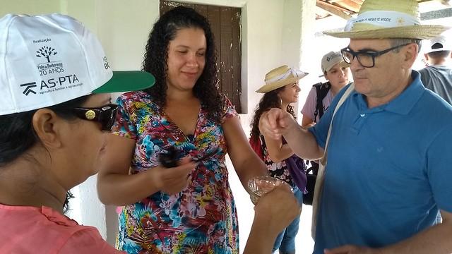 Essa foi a segunda etapa do Intercâmbio entre Agricultores e Agricultoras de Regiões Áridas e Semiáridas do Mundo. - Créditos: Vanessa Gonzaga