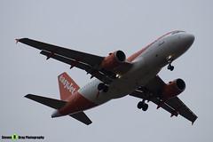 OE-LKD - 3720 - Easyjet - Airbus A319-111 - Luton M1 J10, Bedfordshire - 2018 - Steven Gray - IMG_7133