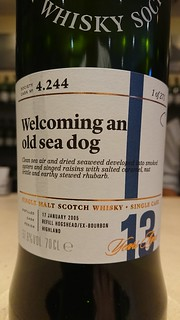 SMWS 4.244 - Welcoming an old sea dog