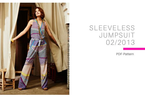 Sleevess Jumpsuit 022013