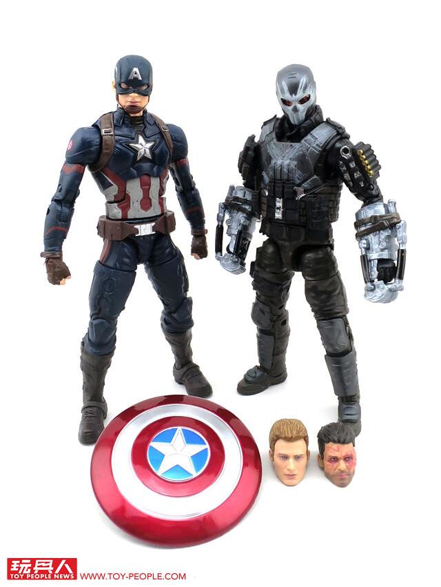 "Marvel Legends Captain America guerre civile SECRET WARS LOOSE 6/"" Figurine Hasbro"