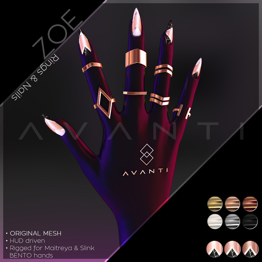 Avanti @ Vanity Event: Zoe Rings & Nails