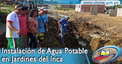 Jardines del Inca ya tiene agua