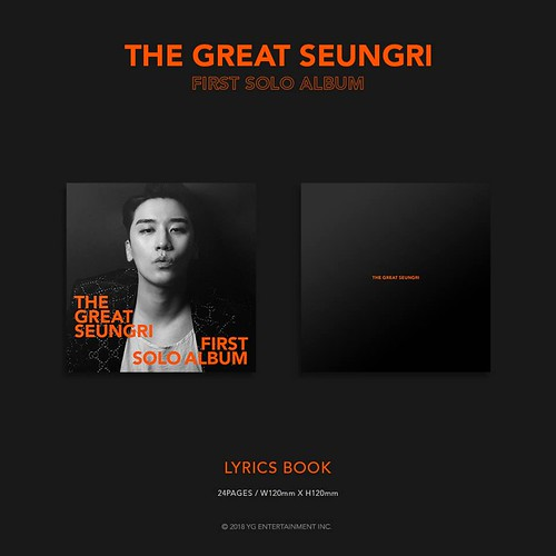 Seungri THE GREAT SEUNGRI Solo Album 2018 (18)
