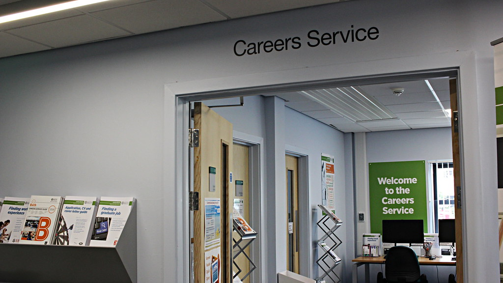 Careers Service information room