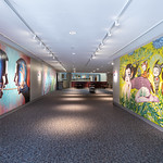 In Sight On Site: Murals - Mark Penner Howell & Sandi Calistro - Photograph by Wes Magyar