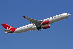 Virgin Atlantic Airbus A330-343X G-VRAY Miss Sunshine LHR 30-06-18