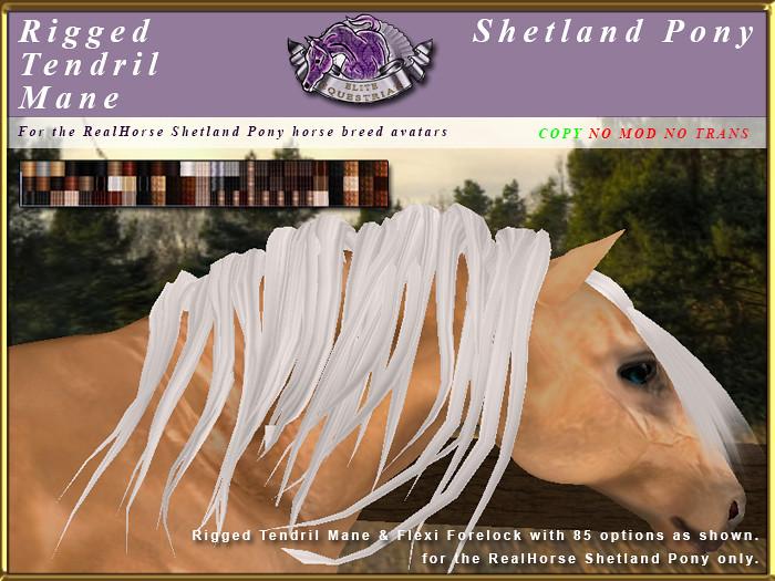 E-RH-Shetland-ManeSet-Tendril - TeleportHub.com Live!