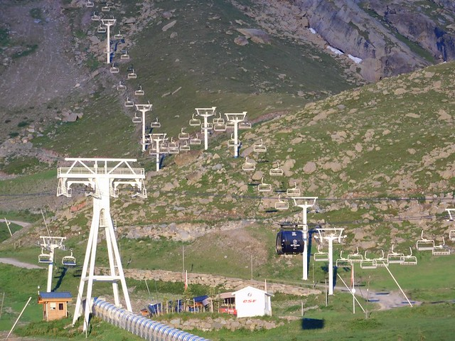 14/07/2018 au 28 Val Thorens – 20/07/2018  Circuit des Demoiselles Coiffées (4 kms) (... pas vues devaient être parties en vacances... ou transformées en .. Papillons)