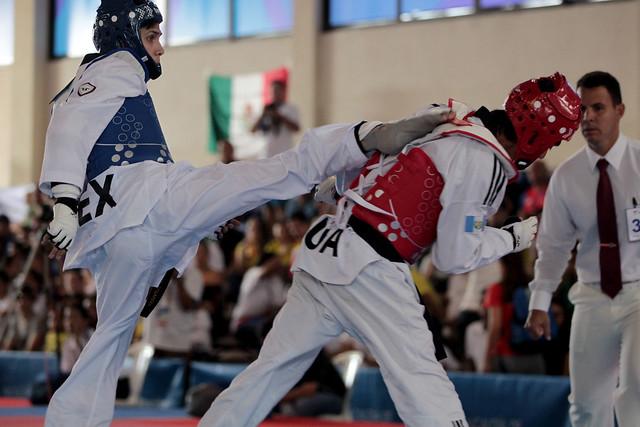 Nelson Acajabón, bronce en el taekwondo de Barranquilla