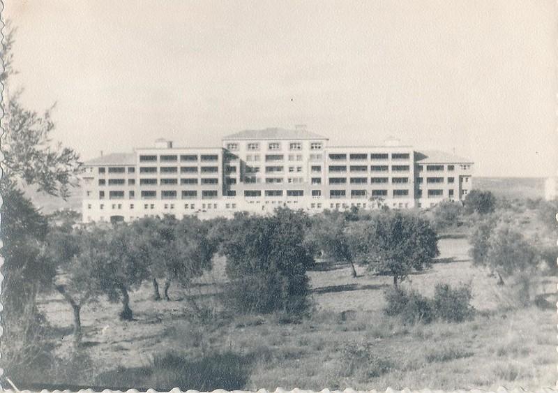 Hospital del Vallo en los años 60. Fotografía de Julián C.T.