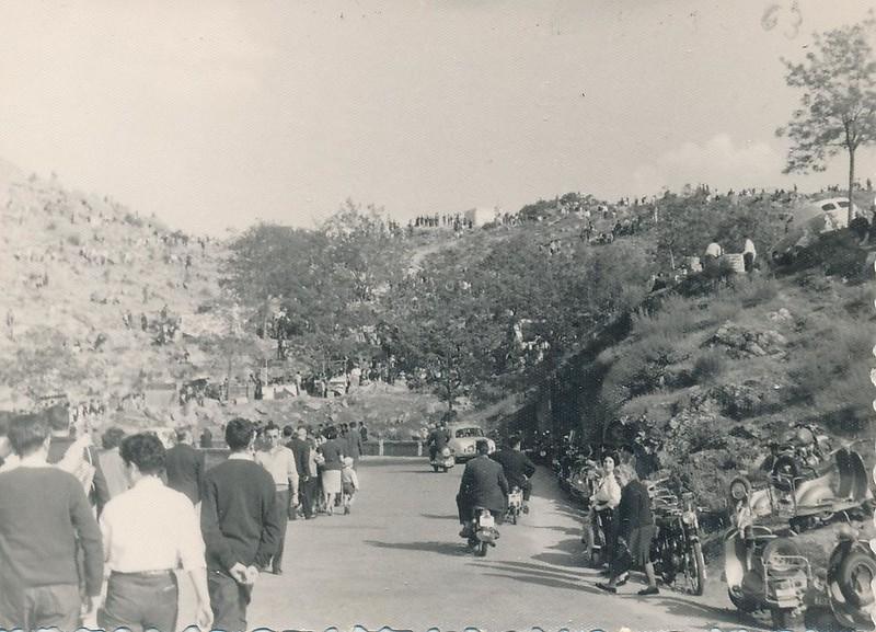 Romería del Valle hacia 1962. Fotografía de Julián C.T.