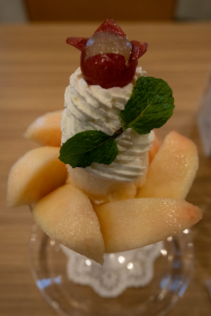 Fruits de saison 『Peach parfait』