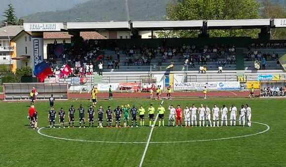 Belluno-Virtus Verona 0-1: segna Grbac, tripudio rossoblu!