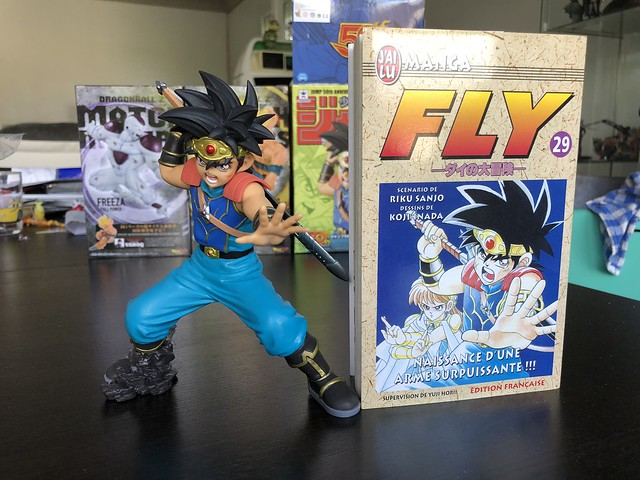 Fly - vs manga pose