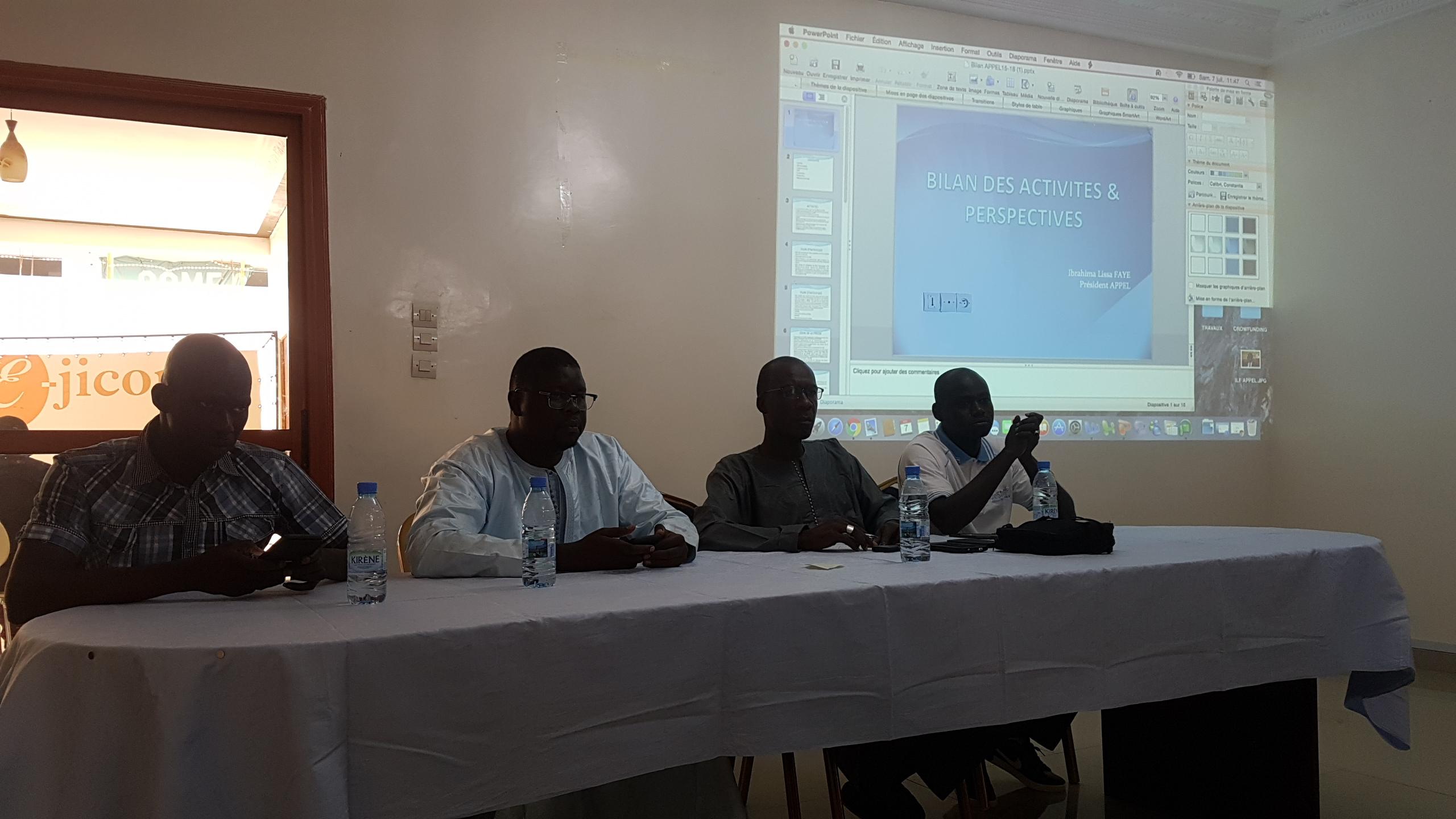 Assemblée Générale APPEL, Association des éditeurs et Professionnels de la Presse en Ligne au Sénégal, Par laviesenegalaise (9)