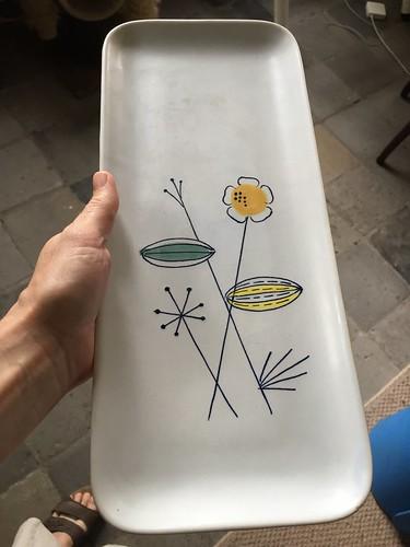 cakeschaal cake platter plateel gouda ceramics keramiek