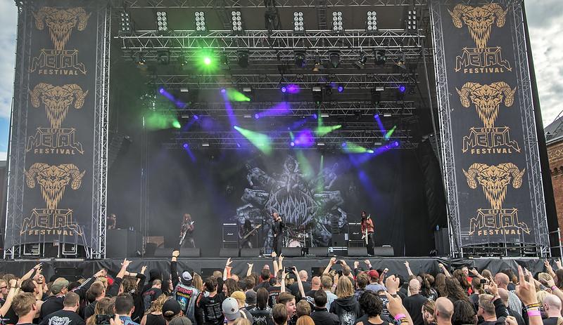 Bloodbath @ 2017 Gefle Metal Festival