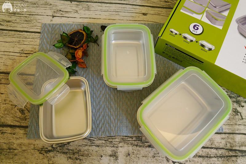 廚房好用小物推薦 品幸福-質感不鏽鋼玻璃油壺罐,304不鏽鋼保鮮盒