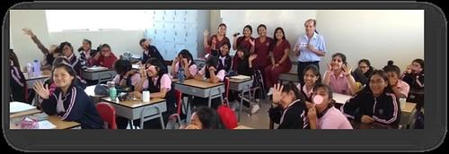LA FACULTAD DE OBSTETRICIA Y ENFERMERÍA DE LA UNIVERSIDAD  DE SAN MARTIN DE PORRES IMPACTANDO EN LAS  INSTITUCIONES EDUCATIVAS