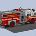FDNY Squad 18 by BrickDesigners