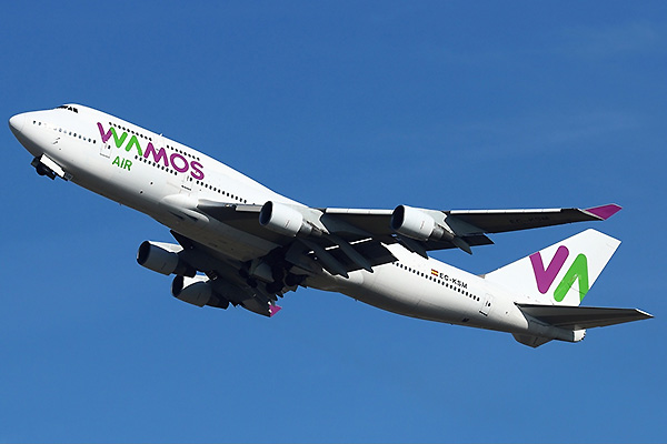 Wamos Air B747-400 EC-KSM (William Verguet)