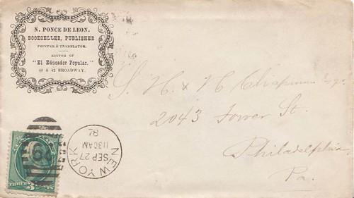 Ponce de Leon 9_27_1878 cover