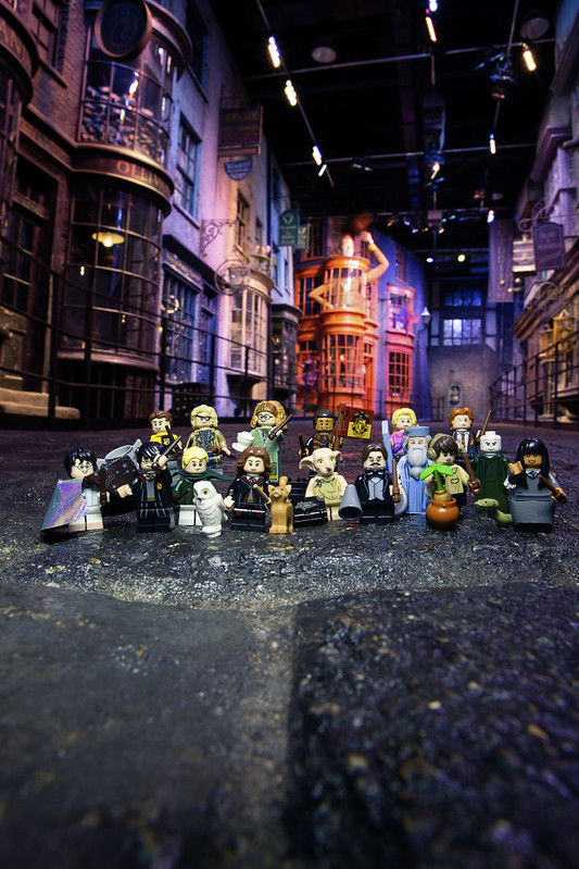 LEGO Wizarding World minifigures (4)